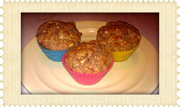 recipe for apple muffins with oatmeal