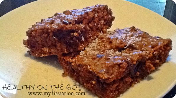 healthy peanut butter chocolate bars