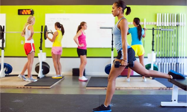 the best workout for a crowded gym