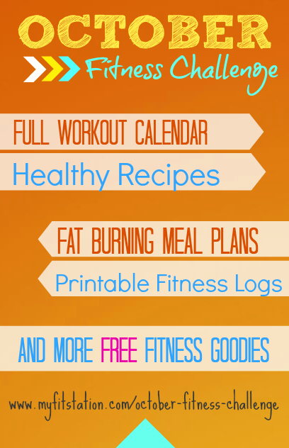 October Fitness Challenge: Guidelines Tips