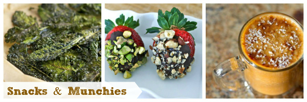 clean recipes on the go: Healthy snacks