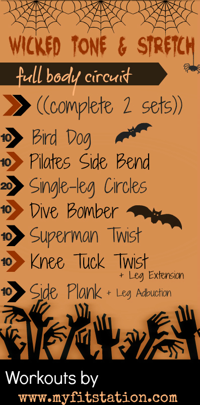Stretch and Tone Halloween Full Body Workout
