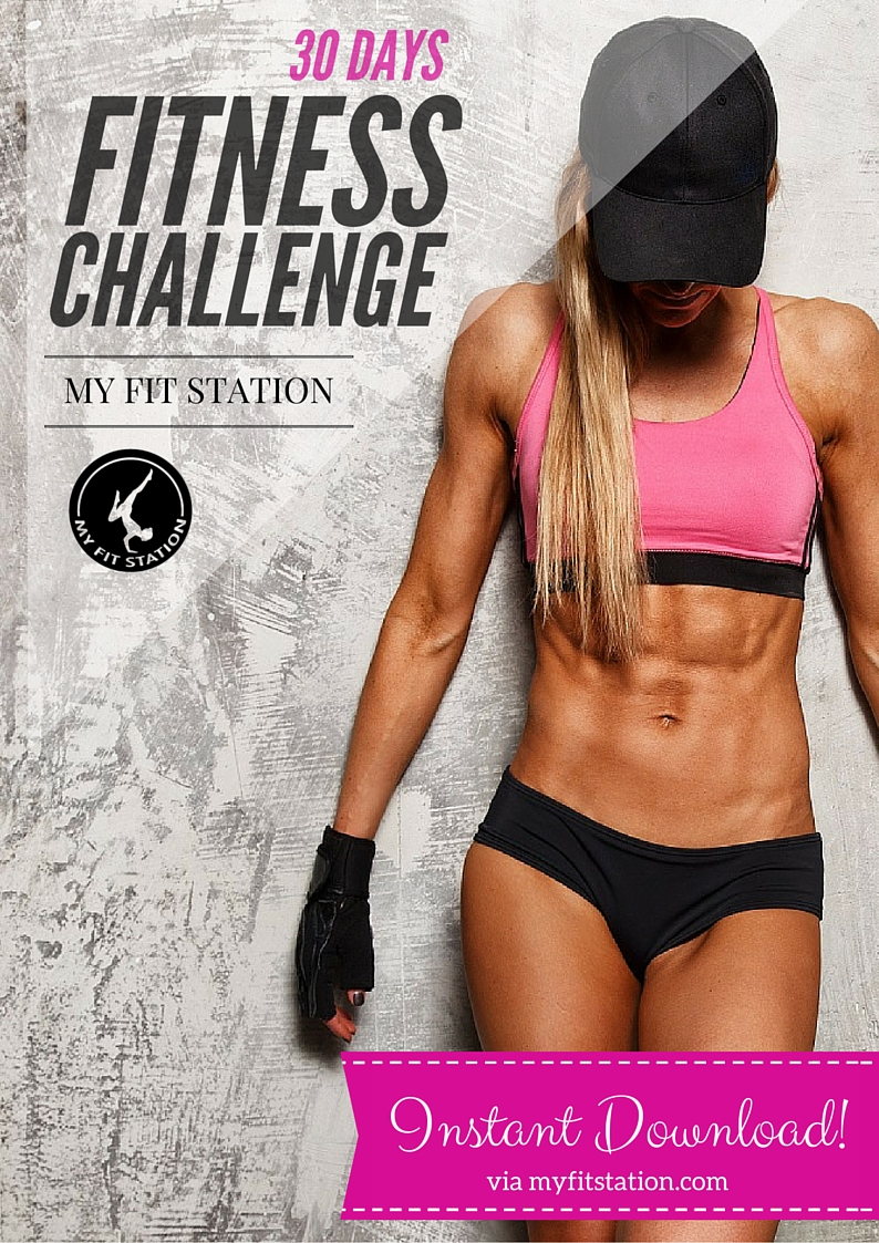 30 Day Fitness Challenge - My Fit Station