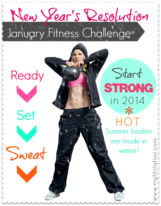 2014 New Year's Resolution Fitness Challenge