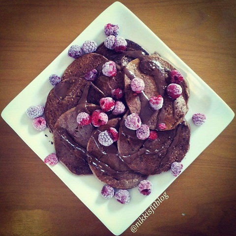 healthy pancake recipe by nikki