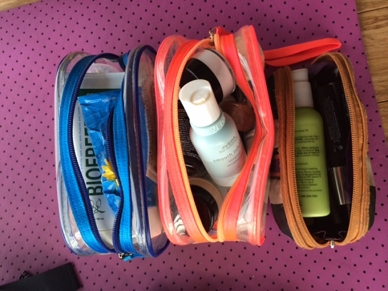 Workout Prep for the Modern Fit Gal - toiletries