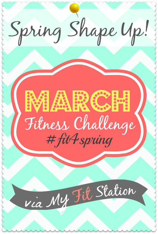 Spring Shape Up March Fitness Challenge