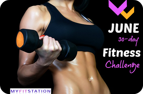 Fit in June 30 day Fitness Challenge