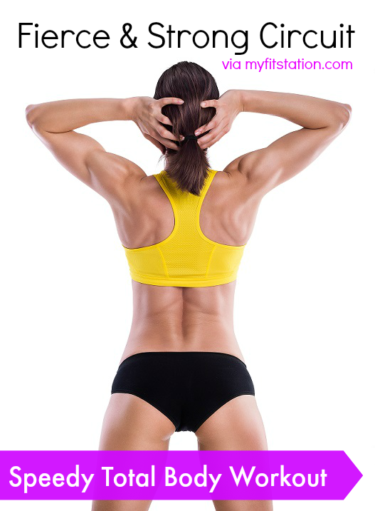 Speedy Total Body Workout Circuit My Fit Station