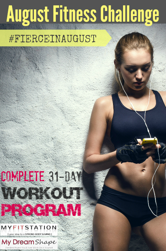 Fierce in August Fitness Challenge 2014
