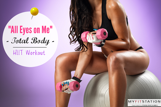 All Eyes on Me - Total Body HIIT Workout