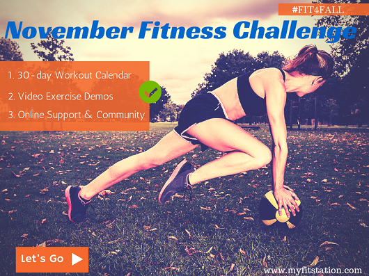 Fit4fall November Fitness Challenge 2014