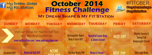 October Fitness Challenge 2014 - featured