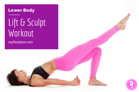 Lower Body Lift and Sculpt Workout 2