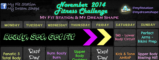 Let S Get Fit4fall Your November Fitness Challenge