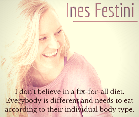 MFS Fit Babe Spotlight - Ines Talks Food, Body-type Nutrition & Emotional Eating