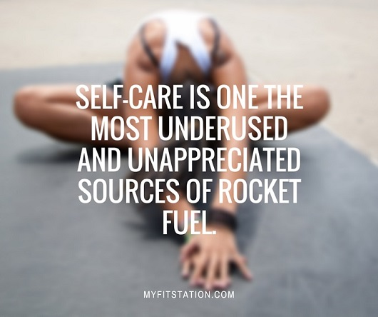 Self-care is one the most underused and unappreciated sources of rocket fuel. myfitstation