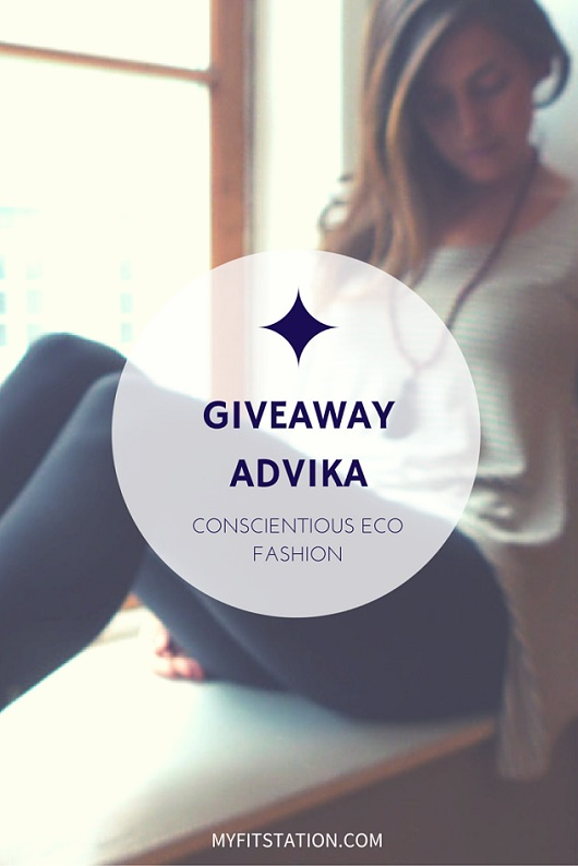 ADVIKA GIVEAWAY 2 - BAMBOO MOVEMENT TOPS - via myfitstation - pin to win 530