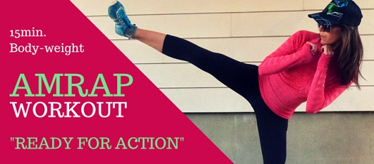 READY FOR ACTION AMRAP WORKOUT via My Fit Station